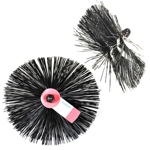 10'' Round Viper Star Poly Brush For 8'' Chimneys
