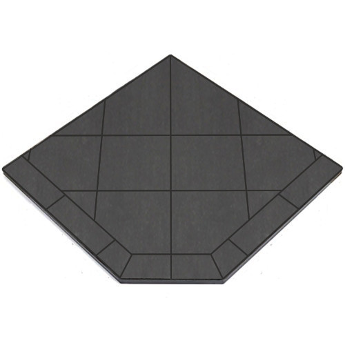 40'' X 40'' Single Cut Volcanic Sand Tile American Panel Stove Board
