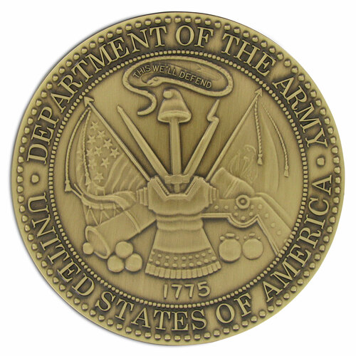 Service Medallion - Army