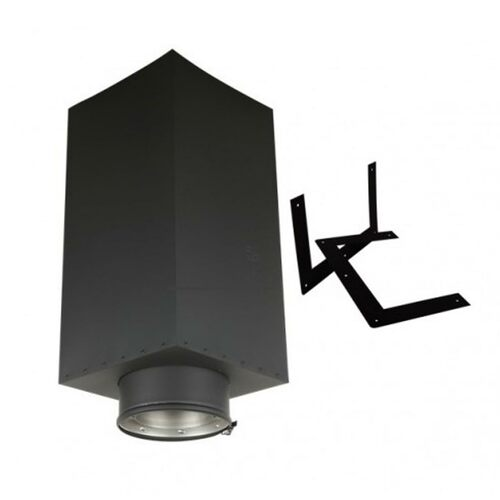 6'' EcoVent 36'' Square Ceiling Support Box