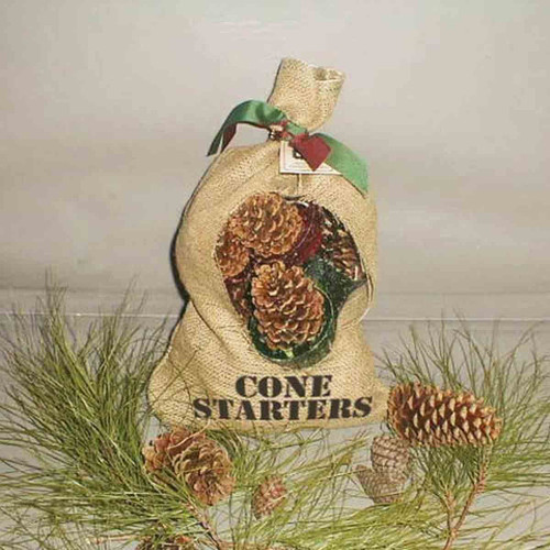 Cone Starters Burlap Bag 12Pcs
