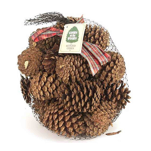 Scented Pine Cones In Bag