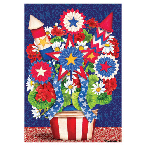 Patriotic Banner Flag - Bouquet