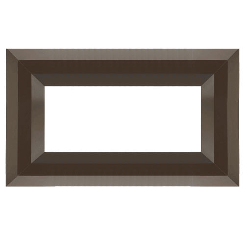 Superior Luminary Linear Fireplace Decorative Face Trim - Aged Copper