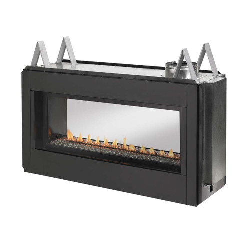 Superior Luminary Series Linear Linear Direct Vent Liquid Propane Fireplace