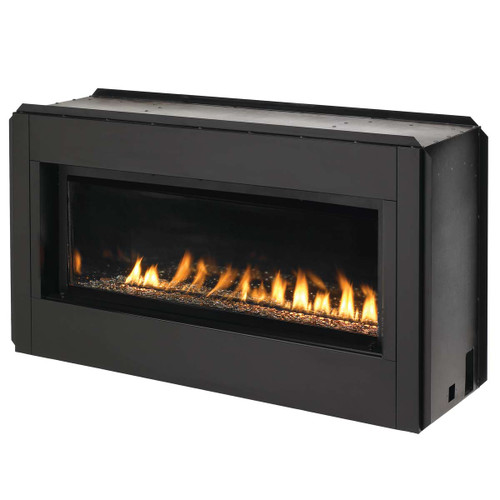 Superior Luminary Series Linear 43'' Linear Fireplace Vent Free Liquid Propane Fireplace
