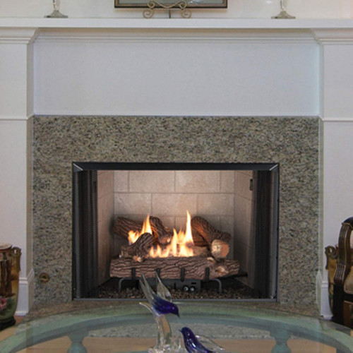 """Superior 42"""" VRT2500 Series Vent-Free Clean Face Fireplace"""