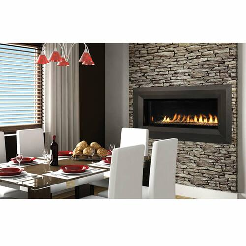 Superior 43'' Linear Fireplace Vent Free Fireplace - NG