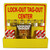 Lock-Out Tag-Out Center with Supplies, 16 x 16, Yellow Acrylic