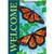 Carson Summer Garden Flag - Radiant Monarchs