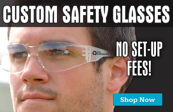 Custom Safety Glasses at discountsafetygear.com