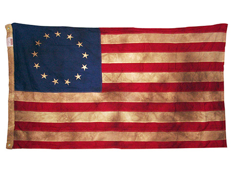 Antiqued Flags Heritage Series