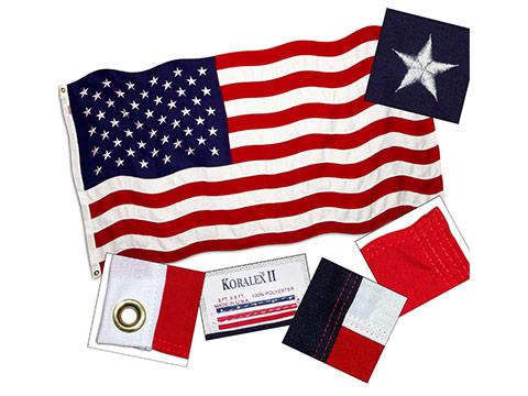 Koralex II American Flags