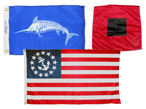 Boat Flags - Nautical Flag Code Signals