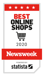 Newsweek ranked #1 in Best Online Shops for 2020