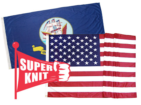 Superknit Polyester Flags