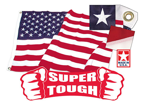 Super Tough American Flags