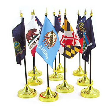 Wholesale State Stick Flags