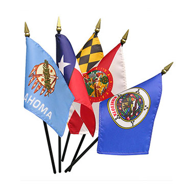 State Stick Flag Sets