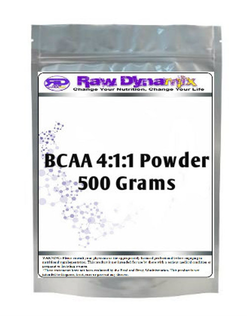Branched Chain Amino Acids 4:1:1 Instantized (BCAA) (500 Grams)