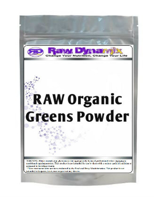 Organic Greens Supplement (1lb)
