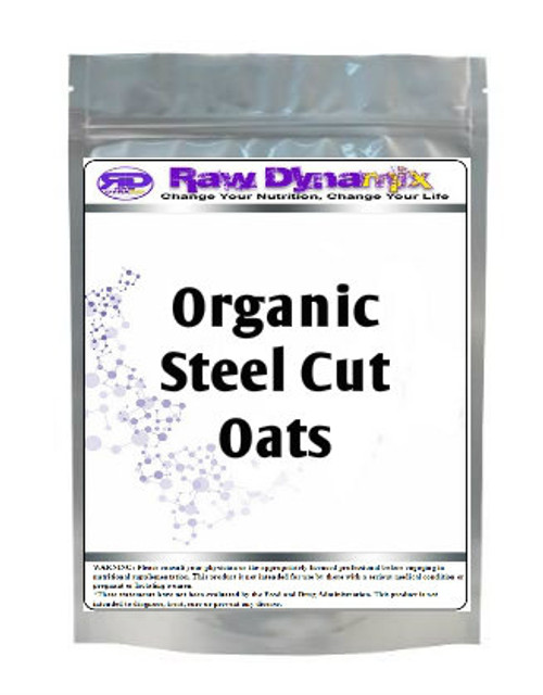 Steel Cut Oats - Organic (1lb)
