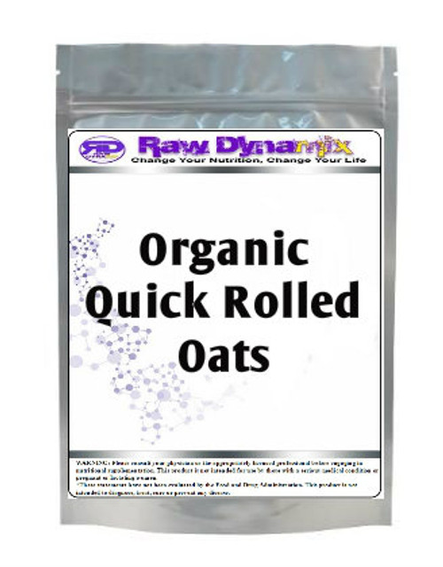 Quick Rolled Oats - Organic (1lb)