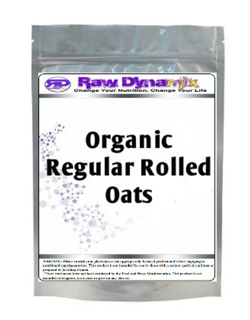 Regular Rolled Oats - Organic (1lb)