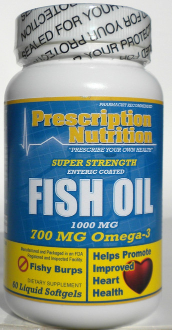 Mega Fish Oil Capsules