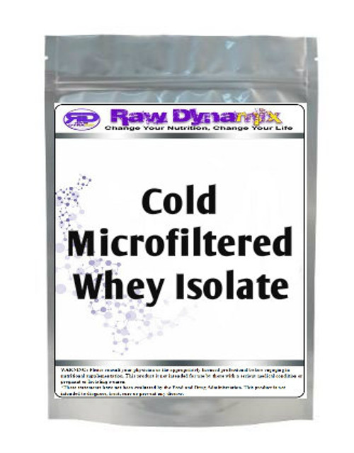 Whey Protein Isolate - Cold-Microfiltration (1lb)