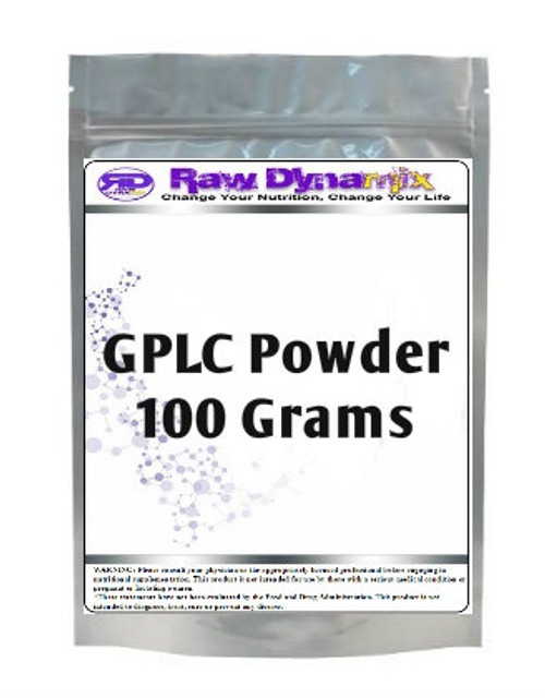 GPLC Glycine Propionyl-L-Carnitine Powder (100 Grams)