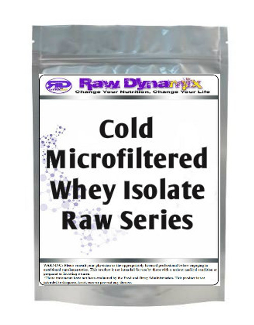 Whey Protein Isolate Cold-Microfiltration RAW Series (1lb)