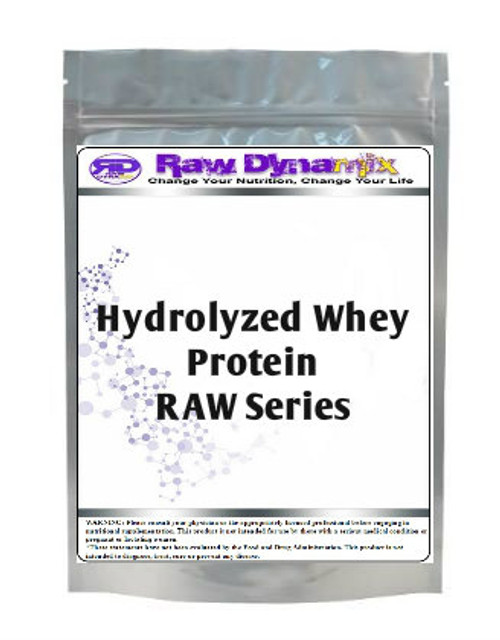 Hydrolyzed Whey Protein RAW Series (1lb)
