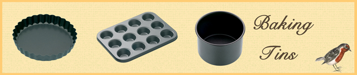 Our Baking Tins by Wares of Knutsford