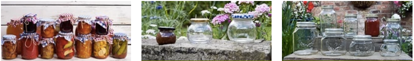 Glass Jars Range by Wares of Knutsford