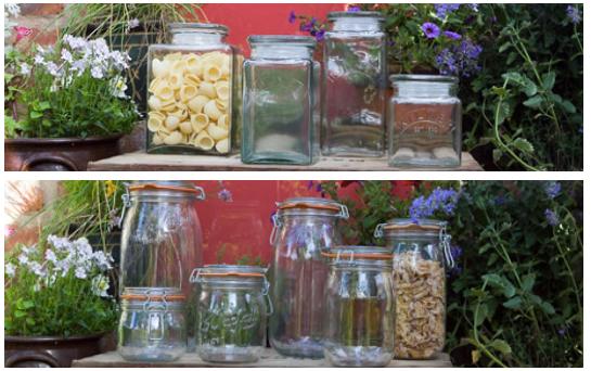 Glass Storage Jars Wares Of Knutsford