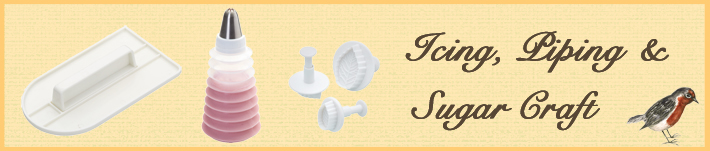 Icing Bags, Piping Bags and Piping Icing Sets and Kits