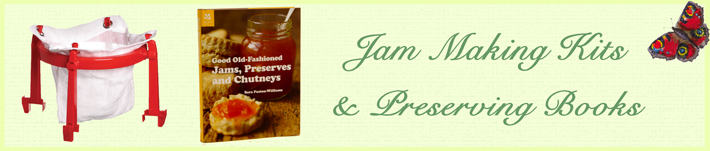 Jam Making Kits and Preserving Books