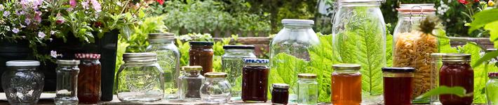 Wares of Knutsford Glass Jars Range