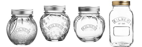 kilner glass jars range