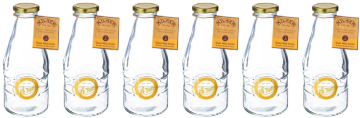 Kilner Milk Bottles by Wares of Knutsford