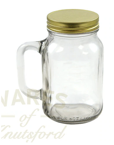 Mason Glass Drinking Jars by Wares of Knutsford