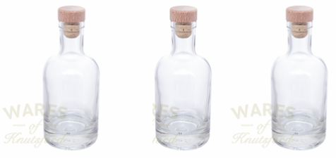 Noctern Glass Bottle by Wares of Knutsford