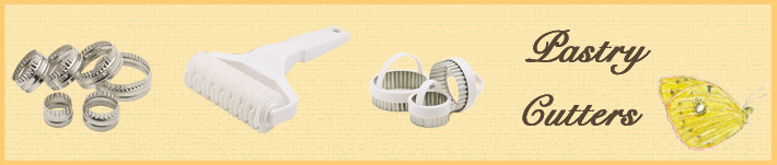 Range of Pastry Cutters by Wares of Knutsford