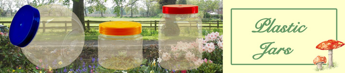 Plastic Jars by Wares of Knutsford