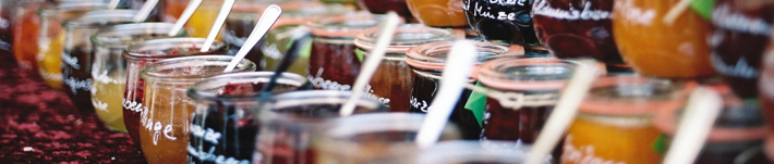 Glass Jam Jars For Preserving