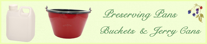Preserving Pans, Buckets and Jerry Cans