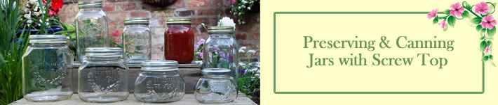 Mason Jars & Canning Jars UK Range