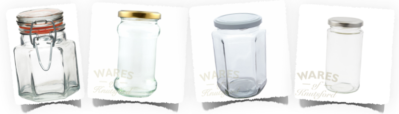 Range of Chutney Jars and Pickle Jars