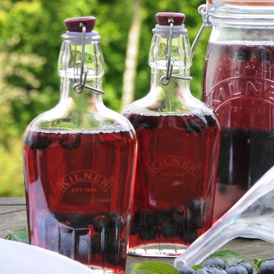 How To Make Sloe Gin >> Making Sloe Gin In Glass Bottles Wares Of Knutsford Ltd
